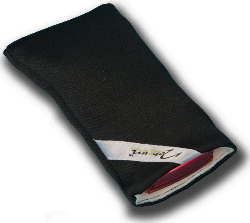 Norrun Handytasche / Handyhülle # Modell Frieke # ersetzt die Handy-Tasche von Hersteller / Modell Samsung SGH-S500i # maßgeschneidert # mit einseitig eingenähtem Strahlenschutz gegen Elektro-Smog # Mikrofasereinlage # Made in Germany