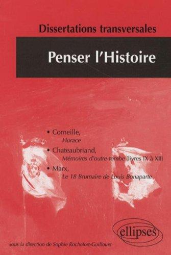 Dissertations Penser L'Histoire 2