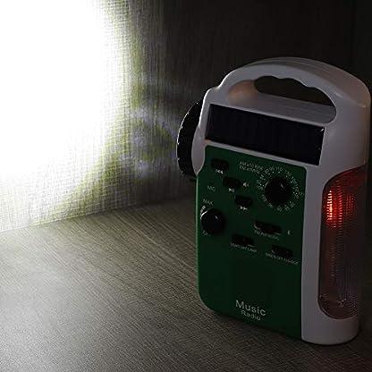 Taidda-Handkurbelradio-76-108MHz-FM-530-1710KHz-AM-Solar-FM-Radio-Bluetooth-Freisprechanruf-Solar-Handkurbelradio