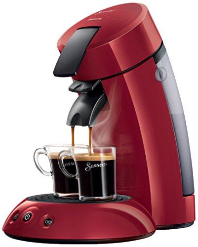 Senseo Original HD7817/90freistehend Kaffeemaschine mit Kapseln 0.7L rot Kaffeemaschine