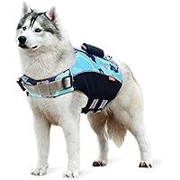 Zilee Perro Chaleco Salvavidas Chaqueta de Natación - Mascota Seguridad Natación Ropa de Natación para Mascotas