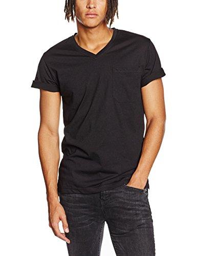 Mick Morrison Herren T-Shirt 2er Pack, Schwarz (Schwarz/Schwarz 070), Medium Preisvergleich