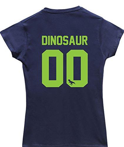 hippowarehouse-damen-t-shirt-x-large-gr-xl-marineblau
