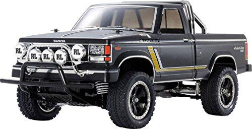 TAMIYA 47361 47361-1:10 RC Landfreeder Mat.Black Spec.CC-01, ferngesteuertes Auto/Fahrzeug, Modellbau, Bausatz, Hobby, Zusammenbauen, schwarz