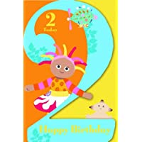 In The Night Garden NG007 Age 2 Birthday Greeting Card