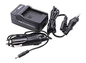Caricabatteria + adattatore per auto incluso LEICA D-Lux 5, D-Lux 6 sostituisce BP-DC10 / BP DC10E