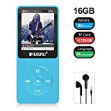 RUIZU Mp3 Player, X02 Digital Music Player with FM Radio, Voice Recorder, Video