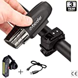 Best Bike Led Lights - Rechargeable USB Bike Light Set l Powerful LED Review