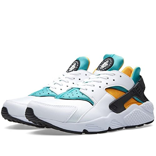 Nike Air Huarache, Baskets Homme, Noir (Black-White 003), 43 EU
