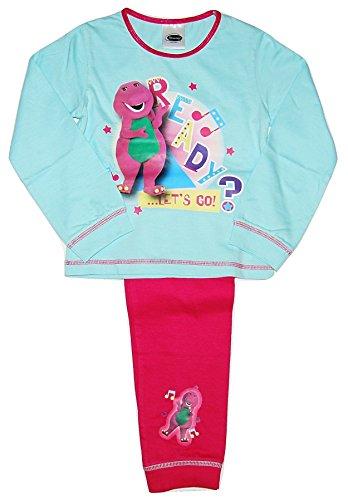 Barney Girls Barney Bear Pyjamas PJs Set (3-4 Years)