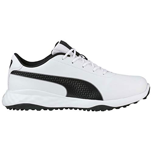 Puma Golf Mens Grip Fusion Classic Golf Shoes - Black - 7