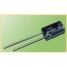 10uF condensador Electroytic 25VDC 105°, 10unidades)