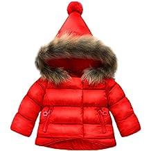 Ropa Bebé Otoño invierno, Amlaiworld Bebé niñas niños abajo chaqueta abrigo Ropa de abrigo 6 Mes - 5 Años