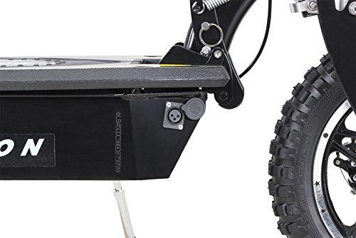 E-Scooter Roller Original E-Flux Vision mit 1000 Watt 36 V Motor Elektroroller E-Roller E-Scooter in vielen Farbe (schwarz) - 4