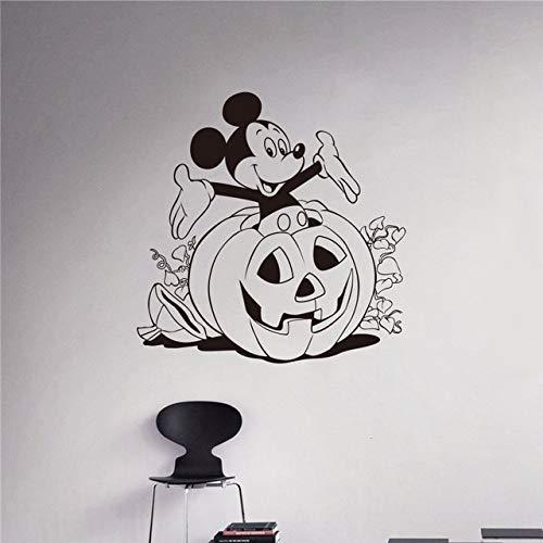 Nette Halloween Kuchen Designs - 58x58 cm Wandaufkleber Zitate, reative Bett