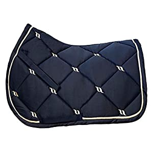 Back on Track® Welltex Nights Collection Saddle Pad Jumping Blue