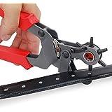 Unho Heavy–Alicate sacabocados herramienta de mano para piel cinturón correa de banda 2mm, 2,5mm, 3mm, 3,5mm, 4mm, 4.5mm 6tamaños