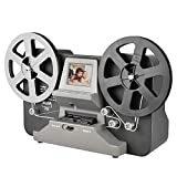 Super 8 Normal 8 Film Scanner con scheda SD 32G e manuale italiano