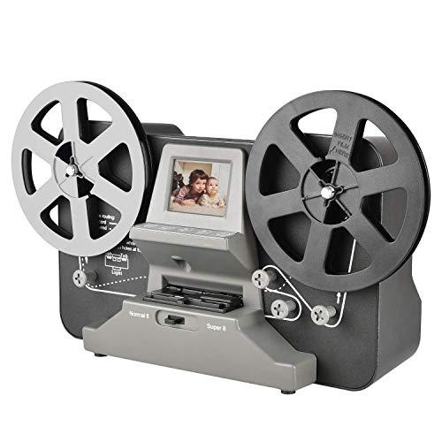 Film Scanner Super 8 - Normal 8 Scanner Konvertiert Super 8 und Normal 8 Filme in Videos i
