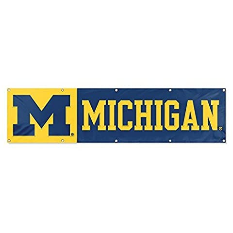 NCAA Michigan Wolverines 8 Foot Banner by Party Animal