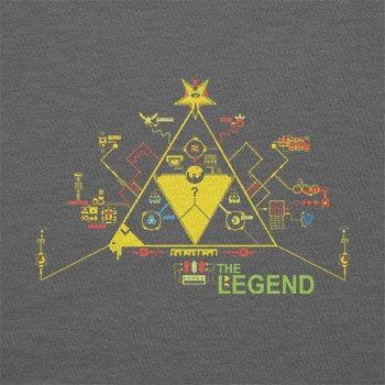 Texlab–The Legend Circuit Board–sacchetto di stoffa Grau