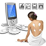 ROOTOK EMS TENS elektrostimulator tens massagegerät elektrostimulator TENS Massagegerät mit Voreingestellte Massagemodi und 8 Elektrodenpads zur Schmerzlinderung und Rehabilitation