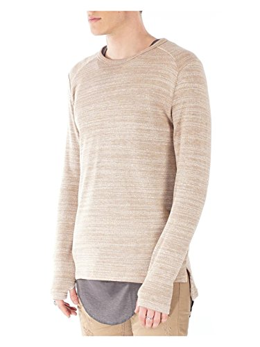 Project X Paris Herren Pullover Beige