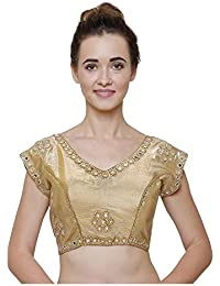 3093539d1bb06b Amazon.in  Cotton - Blouses   Ethnic Wear  Clothing   Accessories