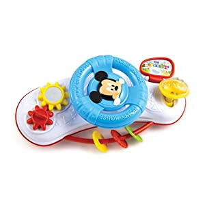 Clementoni 17213 Baby Mickey Stroller Steering Wheel-17213, Multi-Coloured   6