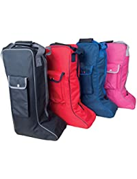 Rhinegold–Bolsa para botas de hípica altas botas de equitación Bolsa Bolsillo Lateral