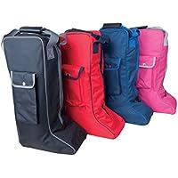 Rhinegold larga bolsa para botas, azul marino