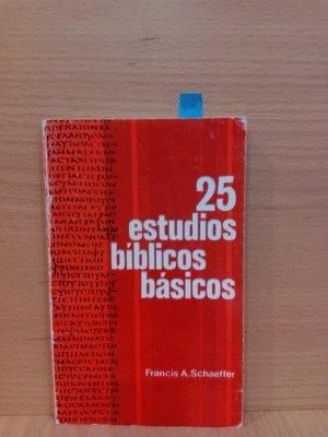 25 ESTUDIOS BÍBLICOS BÁSICOS