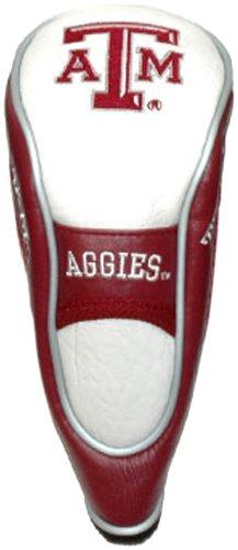 Team Golf NCAA Hybrid-Golfschlägerhaube, Haken- und Schlaufenverschluss, Veloursfutter für zusätzlichen Schlägerschutz, Herren,Unisex-Erwachsene, Damen, Texas A&M Aggies