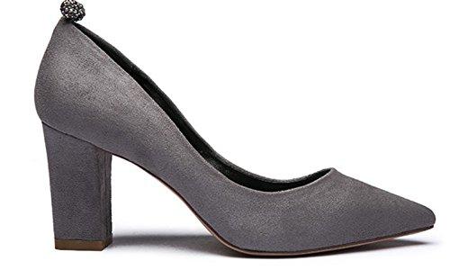 Chaussures de Dame avec strass lumineux à l'automne/Rugueux avec des chaussures de haut talon pointus Scrubs C