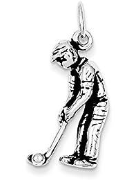 Antik Sterling Golf Silber Charme