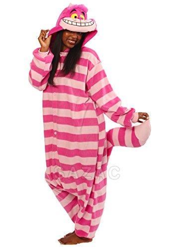 Erwachsene Cheshire Cat Kostüm - Cheshire Cat Kostüm / Kigurumi Onesie