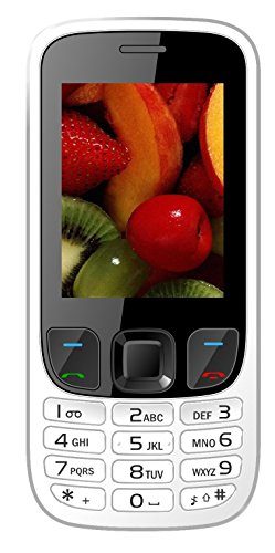 IKALL K6303 Basic Feature Phone (White, 64MB)