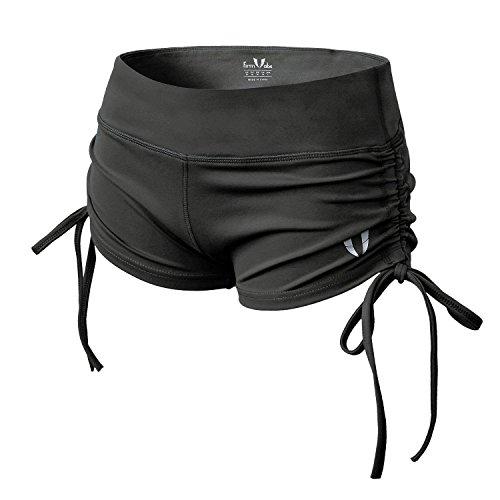 FIRM ABS Damen Mini Bottoms Runner Casual Shorts Hohe Taille Kurze Hosen