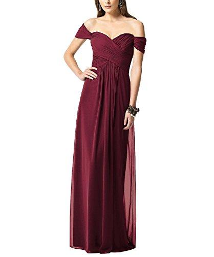 KA Beauty - Robe - Fille Rouge - Bordeaux