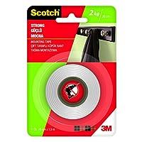 Scotch 4001 Güçlü Montaj Bandı, 19 mm x 1,5 m