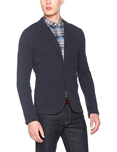 Lindbergh Herren Sakko Casual Blazer Blau (Dk Blue)