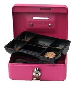 "Cash/Money Box 4"" (10cm) Cylinder Lock with 2 Keys - Pink"