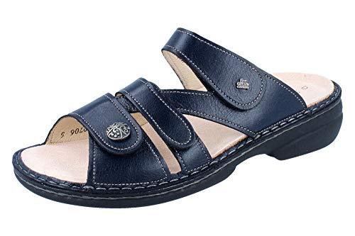 Nubuk-leder-comfort-clogs (Finn Comfort Ventura-S Größe 37 EU Blau (Ozean))