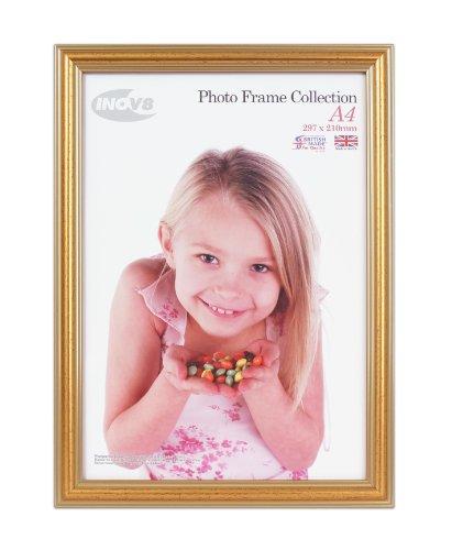 Digital Distribution Inov8 PFES-Gold-A4 Traditionell Briten Foto und Bilderrahmen, A4 Zertifikat, 600 Gold