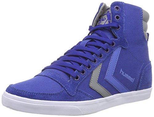 Hummel Hummel Sl Stadil Canvas Hi, Sneakers Hautes Mixte adulte Bleu - Blau (Limoges Blue 8543)