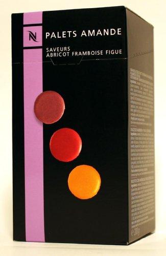 Nespresso Palets Amande-confiseries 3 saveurs: abricot, framboise, Figue-Idéal pour Volluto ou...