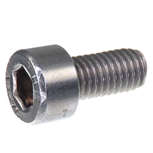 Vis d'assemblage SECCARO M5 x 10 mm, acier inoxydable V2A VA A2, DIN 912 / ISO 4762, six pans creux, 20 pièces