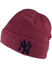 929fda1d78b New Era Hats New York Yankees Micro Fleece Knit Beanie Hat - Cardinal