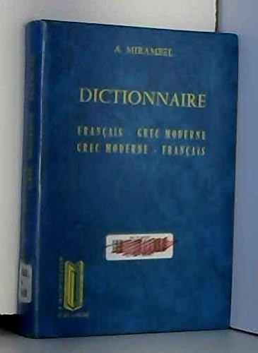 DICTIONNAIRE FRANCAIS/GREC MODERNE