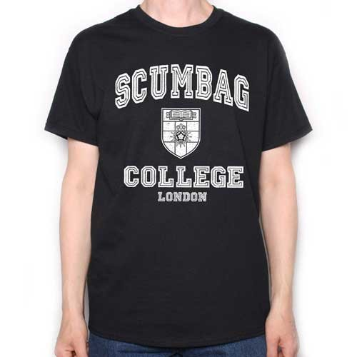 Scumbag College London T-shirt for Adults